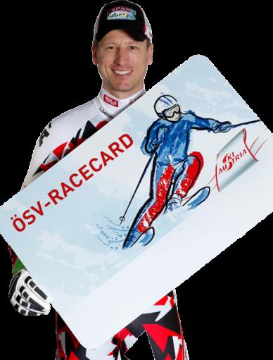 Hannes Raichelt mit RaceCard