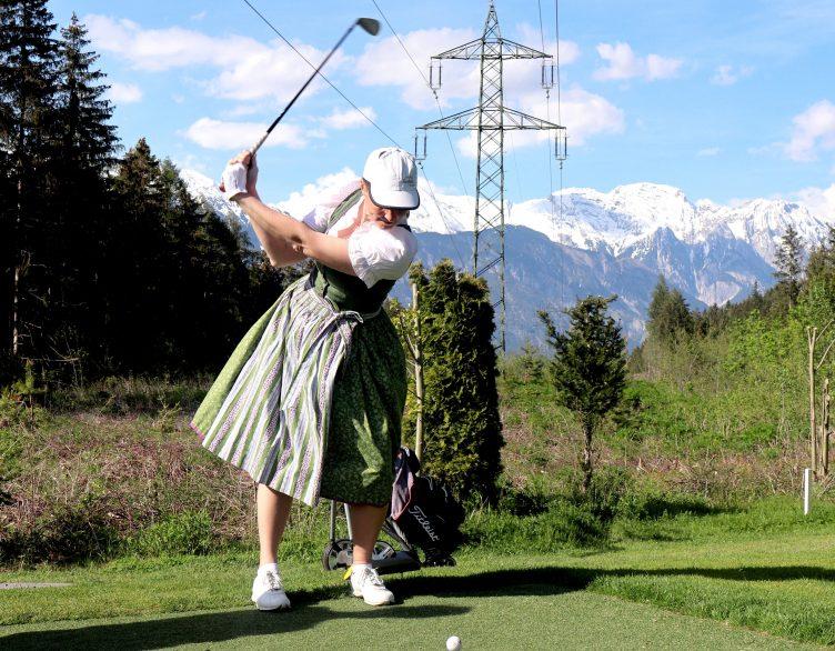 Après-Work Golfturnier in Tracht