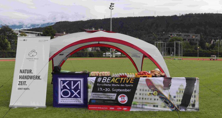 BE ACTIVE – das war der KNOX Bewegungsparcours 2019