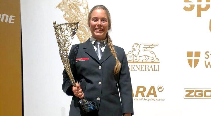 Carina Edlinger ist Sportlerin des Jahres